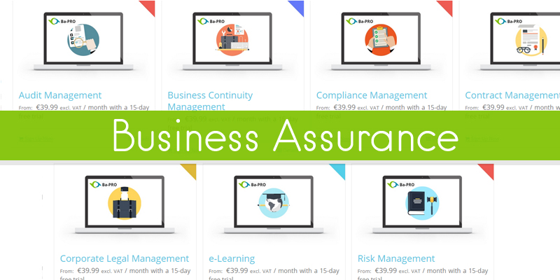 business assurance applications from ba-pro